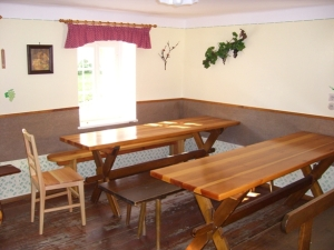 Sitzplätze Buschenschank Krobath