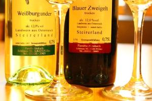 Bouteillenweine Weinbau Krobath